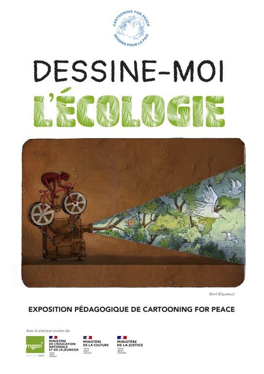 """Nouvelle exposition """"Dessine-moi l'écologie"""""""