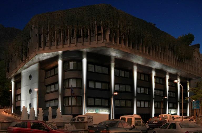 Étude de l'éclairage du bâtiment du gouvernement d'Andorre