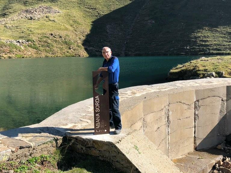 Cabana Sorda lake: the smallest lake