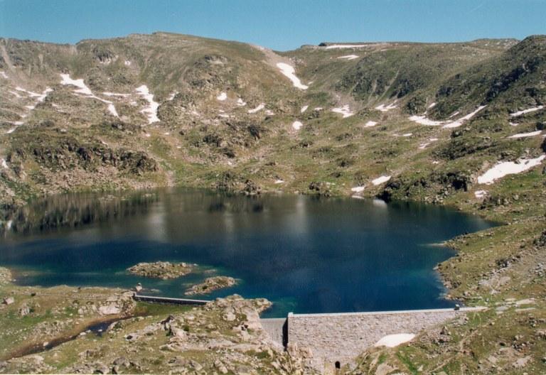 Le lac de l'Illa: le plus éloigné